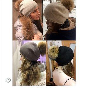 queen fur cashmere hat